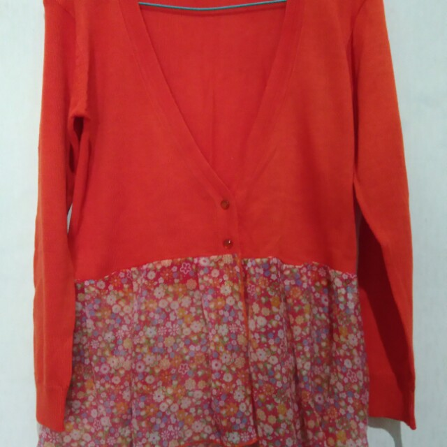 Bolero orange size s fit m