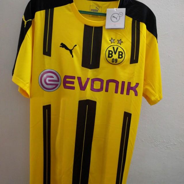 huge selection of d4f31 245c8 Borussia Dortmund Home Jersey