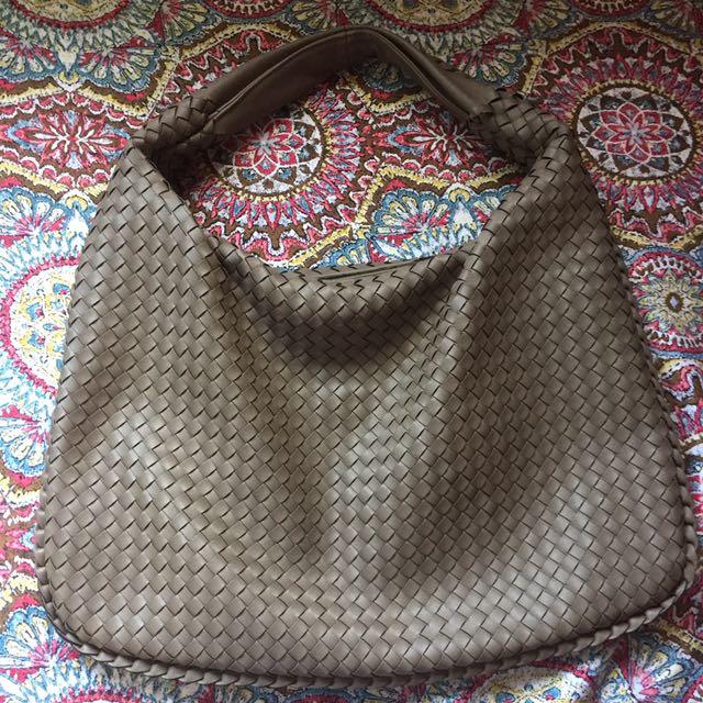 Bottega-inspired hobo bag
