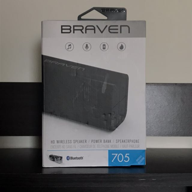 Braven Wireless Speaker 705 bluetooth
