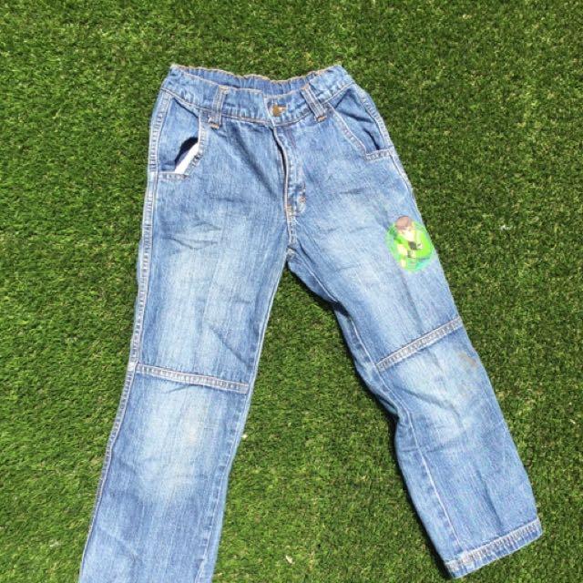 Celana Panjang Jeans Ben 10