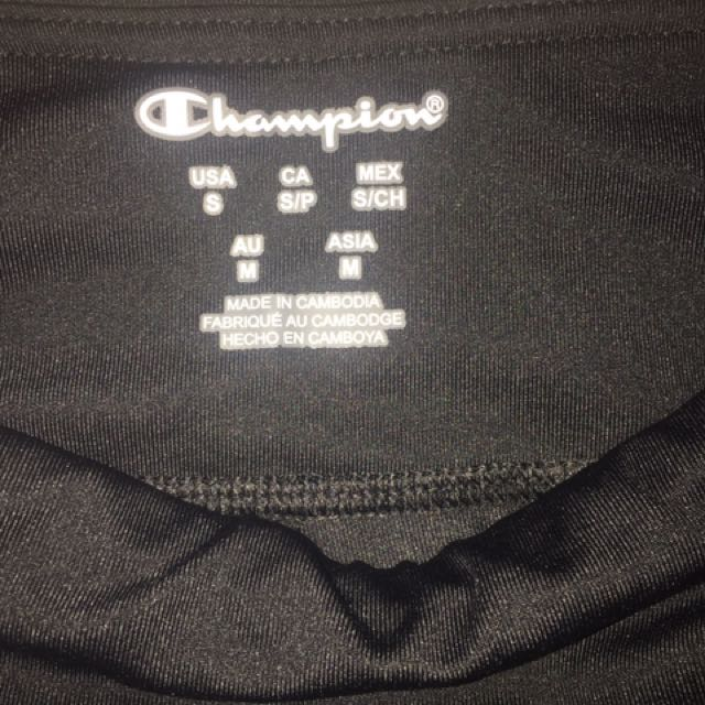 Champions cropped tights