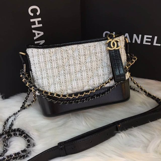 9603019f43cd Chanel Gabrielle small hobo bag Tweed 📲📲ws For Details 0129953901 ...
