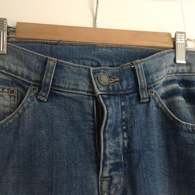 Cheap Monday blue wash jeans (30/32)
