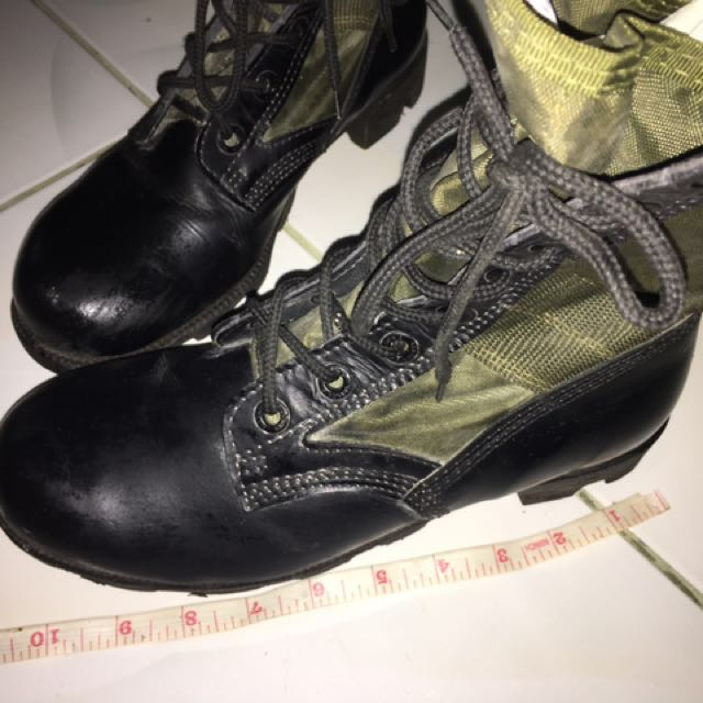 Combat shoes for ROTC