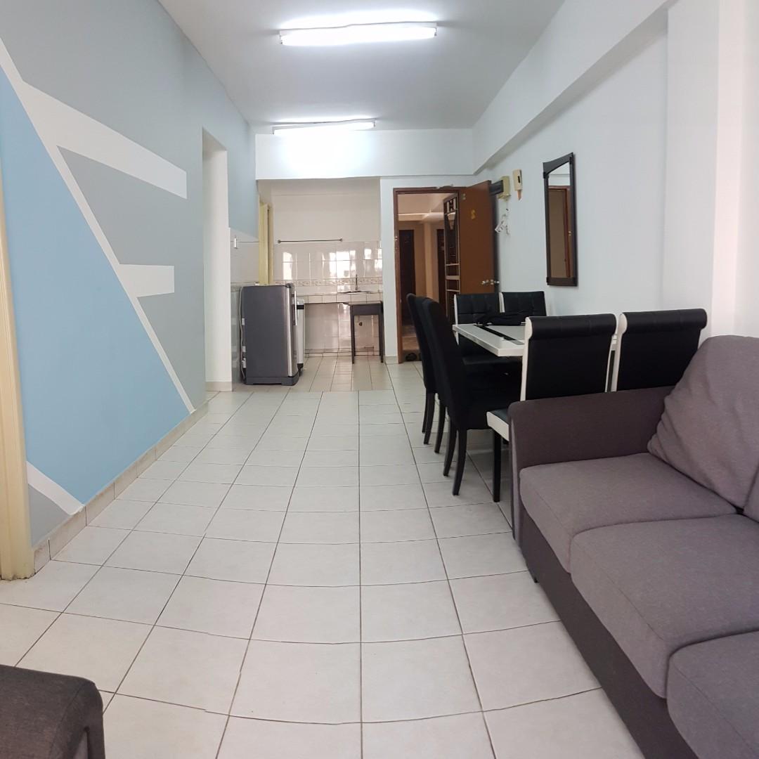 Corner Lot Ff Pelangi Damansara Apartment Near Mrt The Curve Ipc  # Meuble Tv Kaorka Ikea