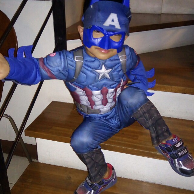 Costume captain america