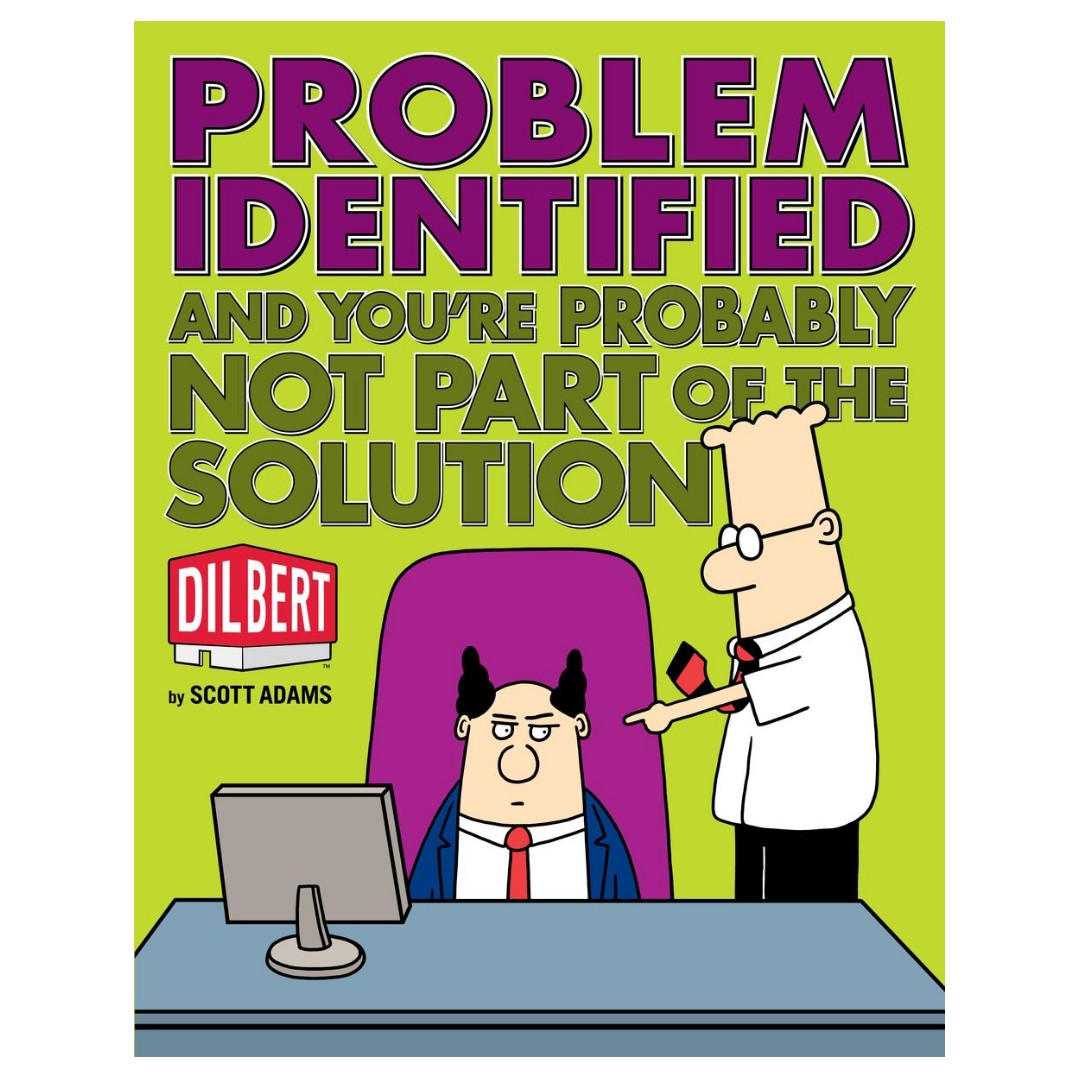 Dilbert Volume 35: Problem Identified, Books & Stationery, Comics & Manga  on Carousell