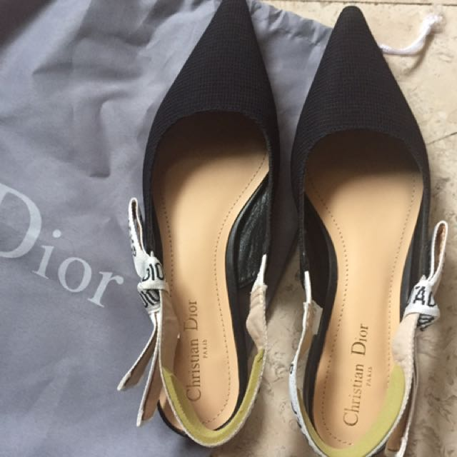 Dior Shoes Sling Back Sz 36
