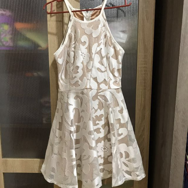 Doublewoot white lace dress