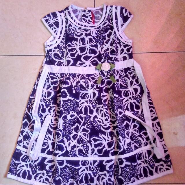 Dress motif batik (2-3 THN)