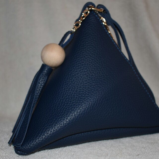 Elegant Triangle Pouch
