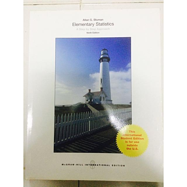 Elementary Statistics: A Step by Step Approach (Ninth Edition)  International Textbook