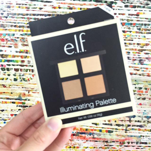 elf 四色修容盤