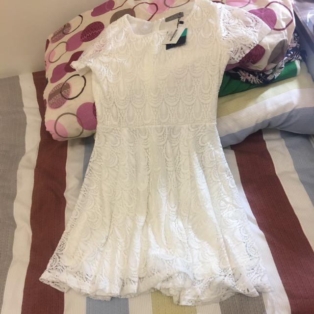 全新)eyecream短袖蕾絲洋裝