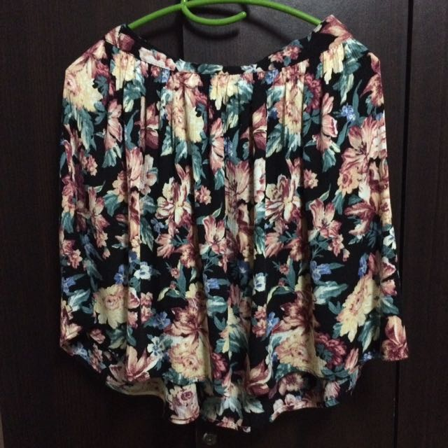 F21 Floral Skirt *Bought in Japan