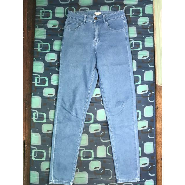 Forever 21 highwaist jeans (size 26)