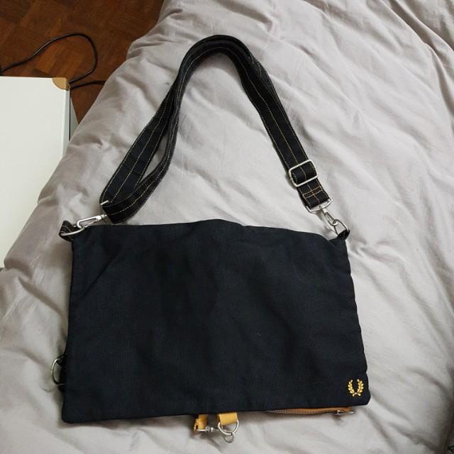 Fred Perry folding bag | sling bag