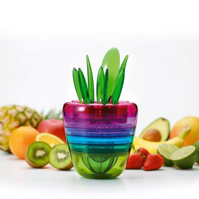 【Fujidinos】《Fruits Plant》多功能水果調理榨汁器