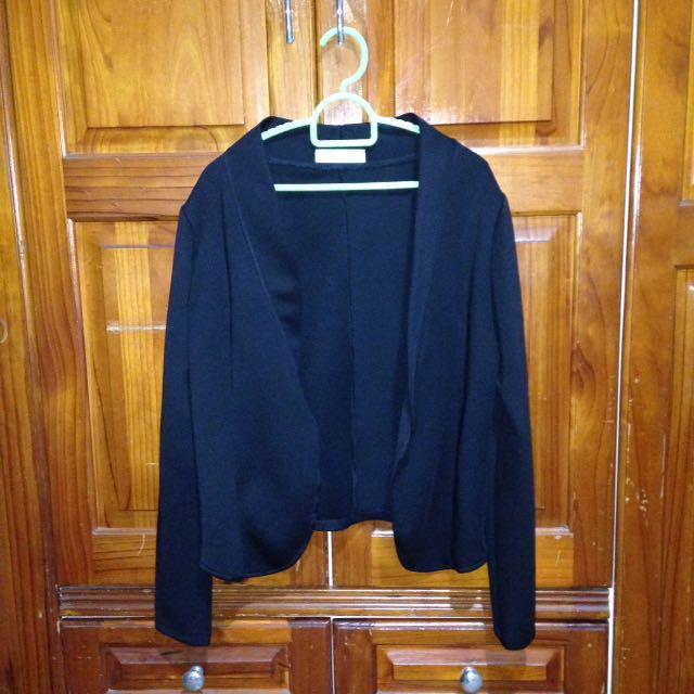 GTW Fab Black Neoprene Blazer