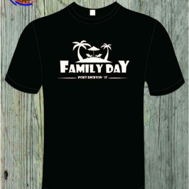 25999c1c5 HD Printing Tshirt Family Day, Men's Fashion, Clothes, Tops on Carousell