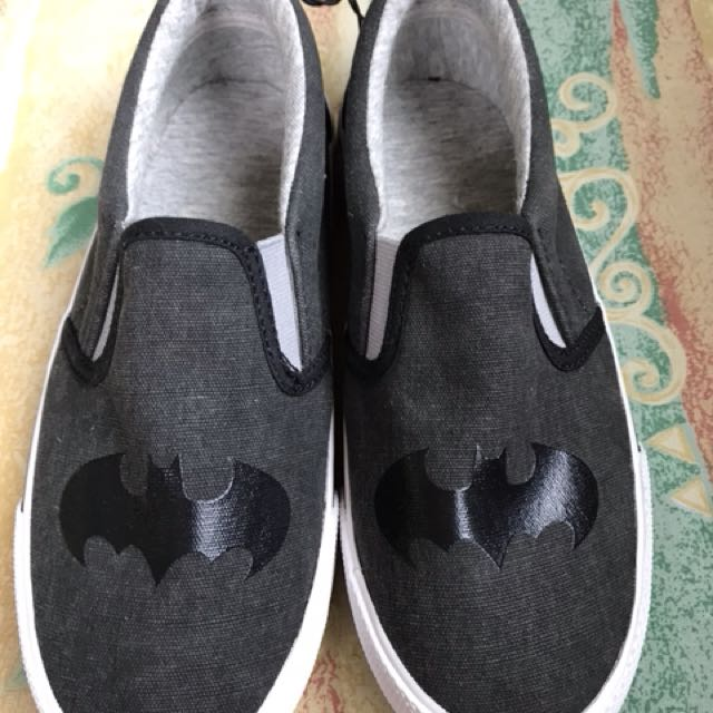H&M Batman slip ons brand new