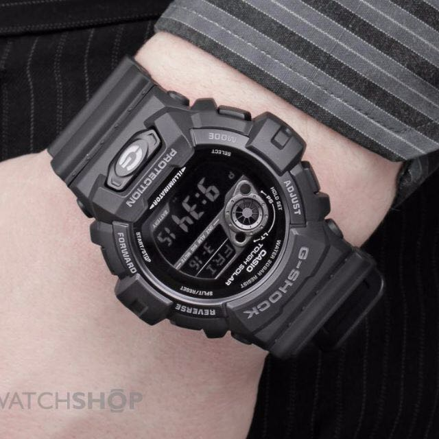 8c0f78f98f38 Hot Deal!  Casio Gents G-Shock ALL BLACK Tough SOLAR World Time 200M ...