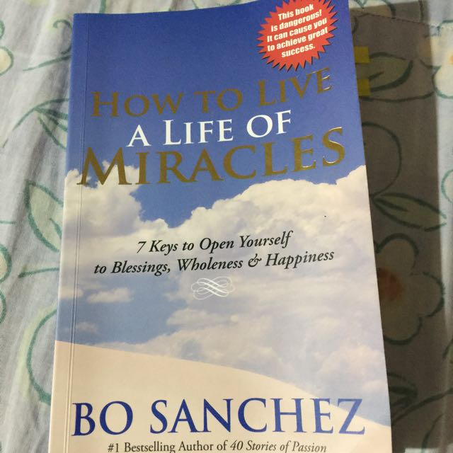 How to live a life of Miracles