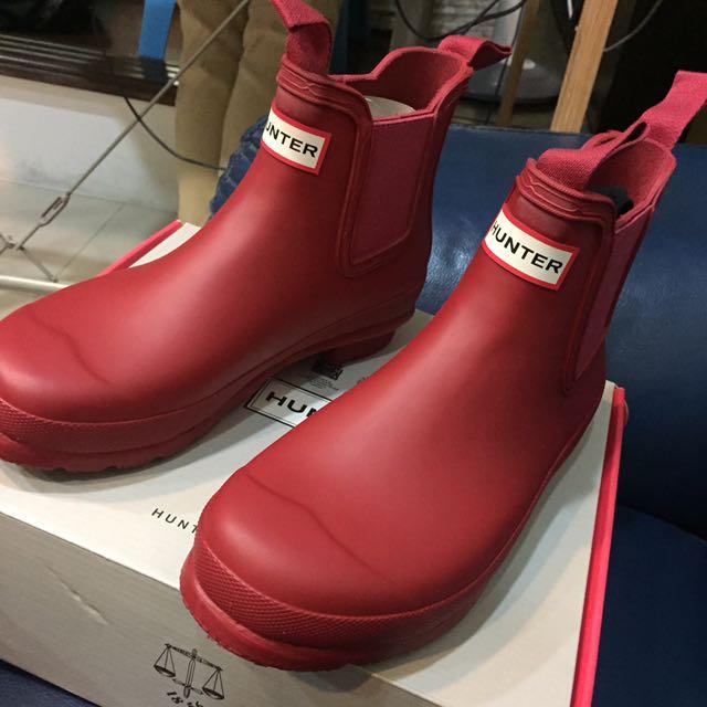 Hunter雨鞋(短)