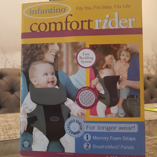 infantino baby carrier infant comfort rider