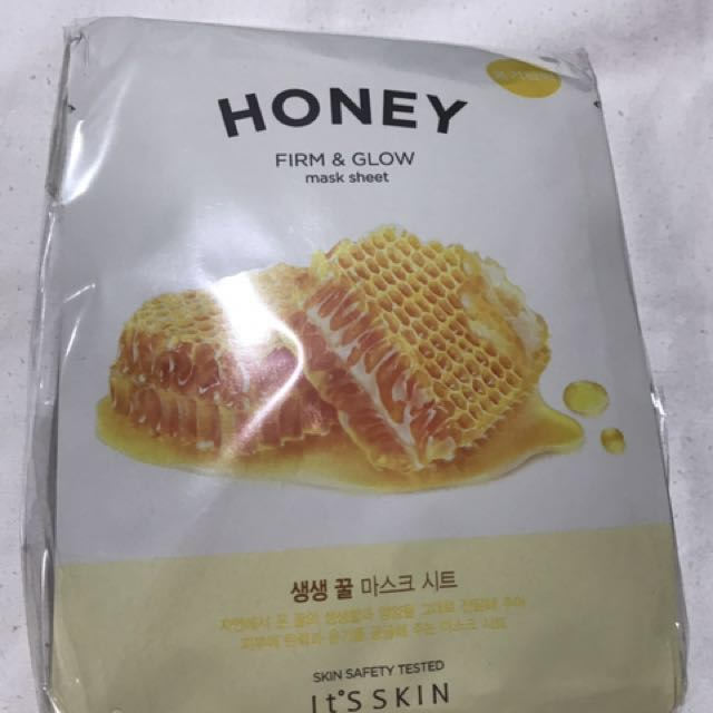 It's Skin HONEY FACIAL MASK/ P70 perPiece
