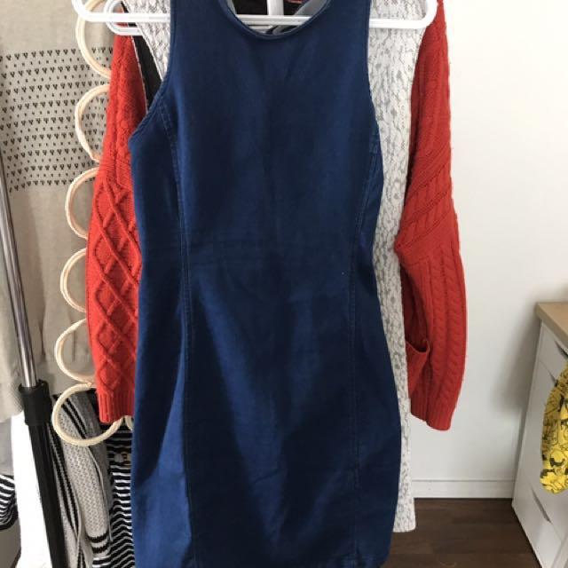 Jean Dress From Dynamite