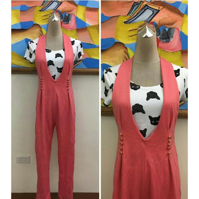 Jumpsuit #jumpsuit S-M (Inner Not Included)