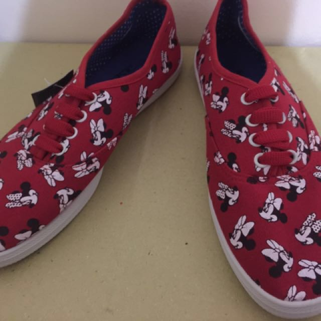 Keds Mickey Mouse (Red)