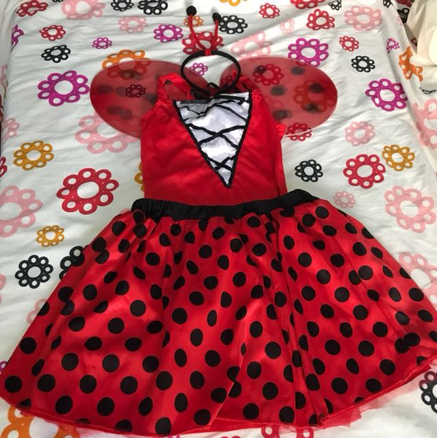 Last bug and Red Riding Hood Costume