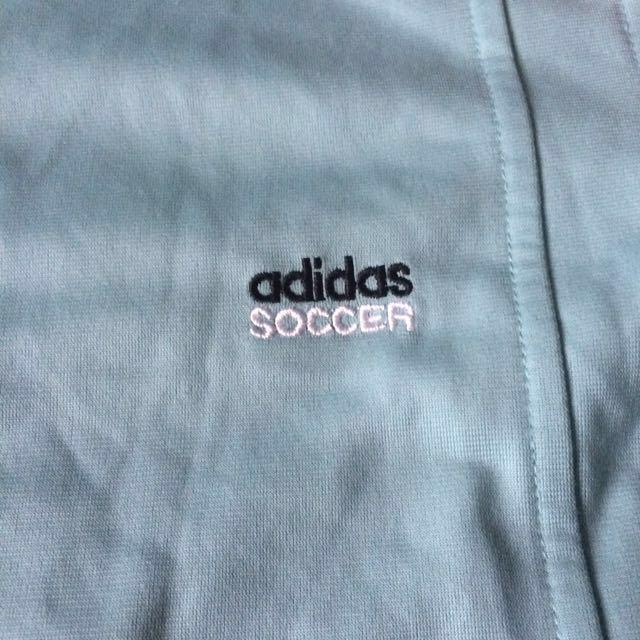 Light Blue Adidas Soccer Jacket