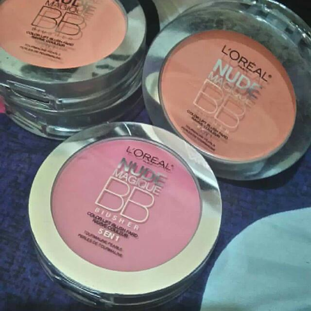 Loreal Nude Magique Bb Blusher