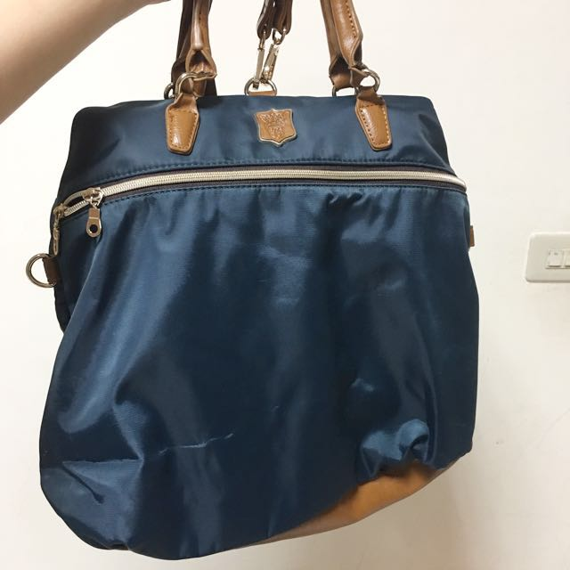 日本正品Macaronic Style 3way 包藍色
