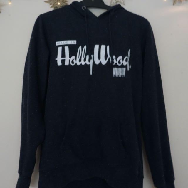 """""""Made in Hollywood"""" dark blue hoodie"""