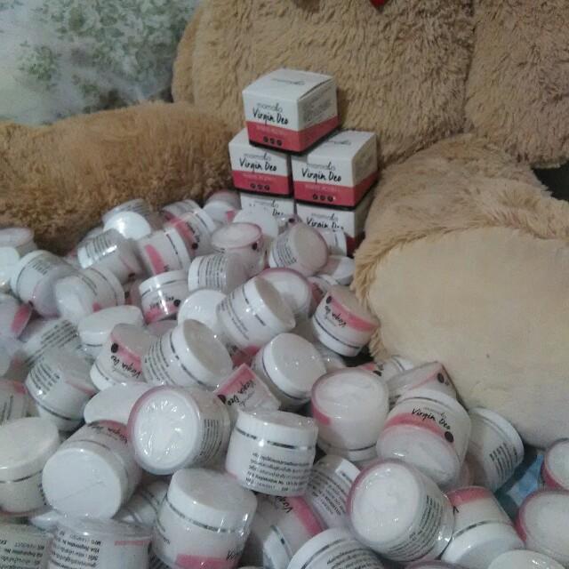 Mamala Virgin Deo Whitening Cream