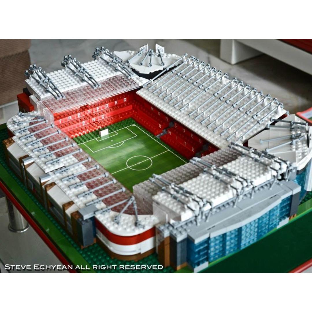 Manchester United Stadium Lego - Hd Football