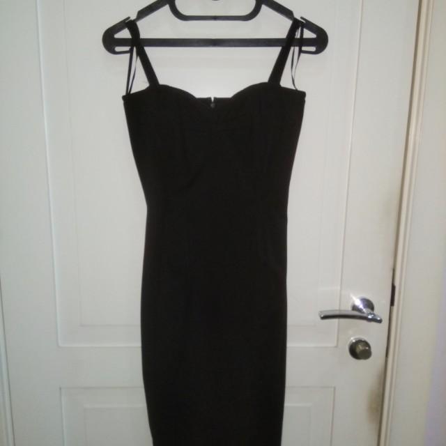 MANGO corset dress