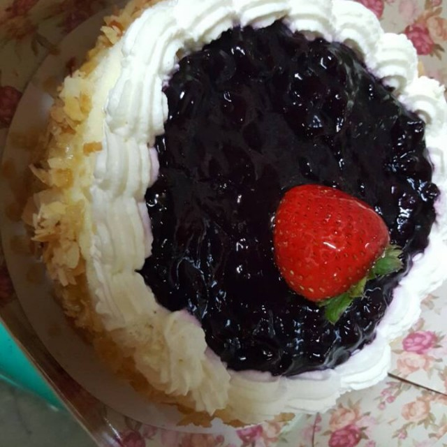 Manila Hotel cake voucher