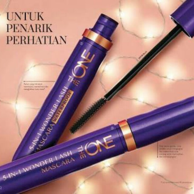 Mascara waterproof the one oriflame