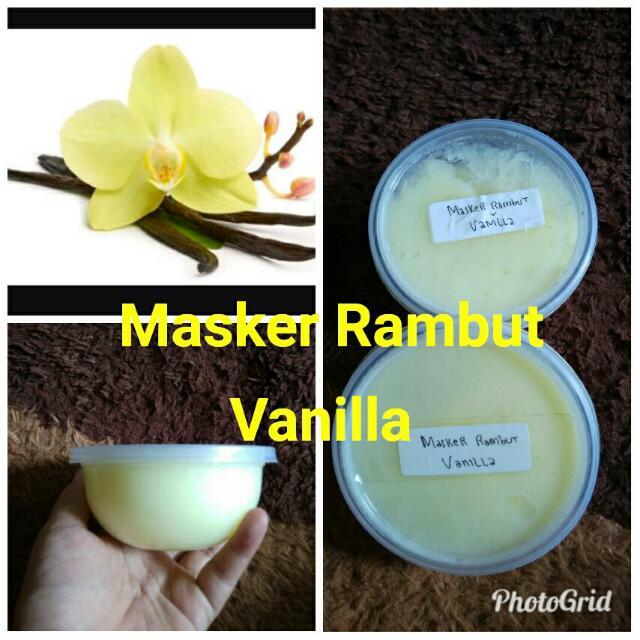 Masker Rambut Vanilla