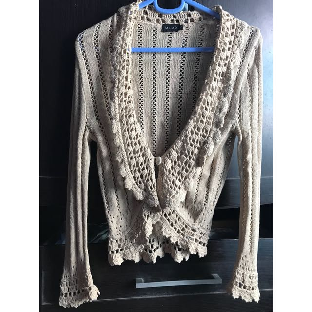 Memo knitted coat (small)