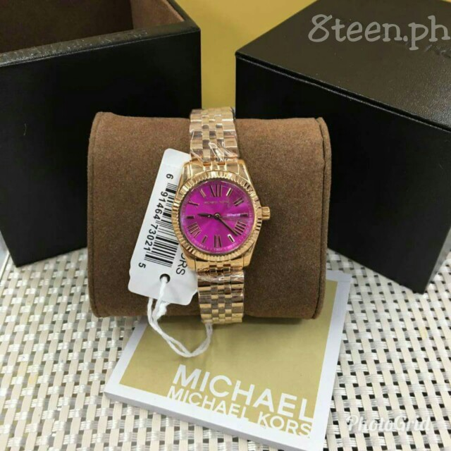 Michael Kors watch mini lexicton