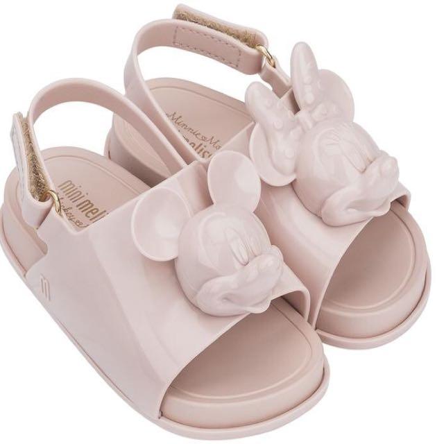 Mini Melissa Beach Slide x Minnie Mouse