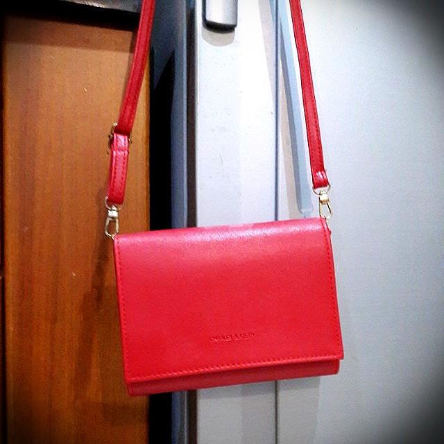 Mini Sling Bag Red