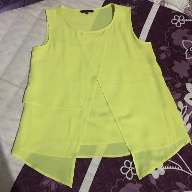 Missty Yellow Top